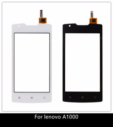 4.0 '' celular para lenovo a1000 painel de toque original touch screen digitador sensor de vidro frontal para lenovo a 1000 touchscreen de Fornecedores de caixa de bateria híbrida