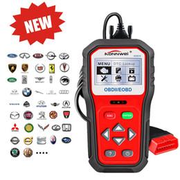 connecteur opel 16 broches Promotion Lecteurs de code professionnels du scanner KW818 du scanner OBD2 Vérification d'outil d'analyse de fonction de moteur de véhicule d'OBDII Antomotive OBD / EOBD