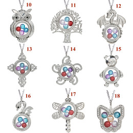 MMC Womens Necklaces Pendants Bohemian cage Brand Pearl Silver Jewelry