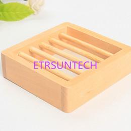 Canada Porte-savon en bois naturel en bois avec porte-savon en bois support de stockage de porte-savon pour boîte de rangement pour boîte de douche Offre