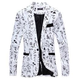 2019 casaco de homem elegante 2019 Linen designer de roupa dos homens de luxo Designer Mens Blazer Jacket Cópia à moda extravagante Marca florais Sexo Masculino Ternos Blazers