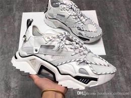 19SS Triple S Strike Sneakers, Herren Damen Old Daddy Freizeitschuhe Lace-Up Mesh Upper Oversized Strike 205 Sneaker mit Box Größe 35-44 von Fabrikanten
