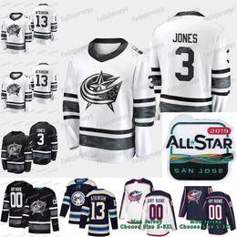Seth Jones Columbus Blue Jackets 2019 All Star Cam Atkinson Artemi Panarin  Dubois Sergei Bobrovsky Nick Foligno Boone Jenner Wennberg Jersey daacc8834