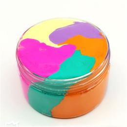 Fate di giocattoli per bambini online-Arcobaleno di cotone fata nuvola melma soffice gelato fango antistress bambini giocattolo fai da te fango di gomma giocattoli creativi di alta qualità