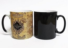 Farbwechselbecher online-Kreative Geschenke Zauberbecher Harry Heißgetränk Farbwechsel Becher Potter Marauders Map Mischief Managed Wine Tea Cup Q190525
