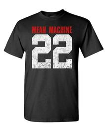 Maquina ma online-Mean Machine 22 - Yard MMA Martial Football - Camiseta de algodón para hombre