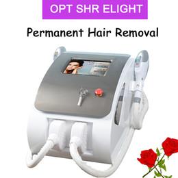 2019 corpo de tratamento de acne Remoção dos vasos sanguíneos do ipl da máquina Máquina da remoção do cabelo do laser do IPL para o equipamento do tratamento da acne da cara e do corpo desconto corpo de tratamento de acne