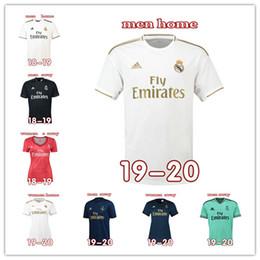 Lotto jersey online-5 pezzi / lotto La Liga Uomo Donna Bambini Calcio Jersey Thailandia Qualità FCB Barcelona Real Madrid CF Mix Order
