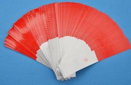 100 TEILE / LOS Billig Großhandel Rot / Weiß 30 * 5 cm Auto Reflektierende Aufkleber Warnband Auto Reflektierende Streifen von Fabrikanten