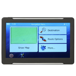 gps navi Promo Codes - T600 Portable 7 inch Touch Screen Car GPS Navi 256MB+8GB GPS Navigator+Map