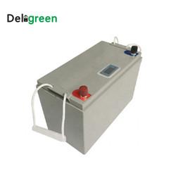 3.7v литий-ионный аккумулятор aa Скидка Пакет 12V 100AH LiFePO4 батареи Литий Литий-ионный для электрических велосипедов батареи EV UPS Solar Energy Storage с дисплеем Led