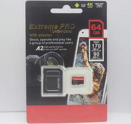 cartes 256gb sd Promotion Le dernier meilleur meilleur 128GB 256GB 64GB 32GB carte SD vente chaude avec adaptateur Blister générique paquet de vente au détail