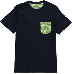 bolso feito sob encomenda camisetas Desconto personalizado crânio verde moda bolso unisex T-shirt presente perfeito presente de aniversário