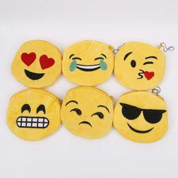lindas carteras pequeñas para mujeres Rebajas 1 UNID Lindo Mujeres Niñas de Dibujos Animados Emoji Sonrisa Monedero Pequeño Monedero Suave Felpa Monedero Con Cremallera Bolso Bolso Moda