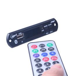 2019 módulos de fonte de alimentação 2019 Novo Carro MP3 Bluetooth Decodificador Board 5 v / 12 v PCB Módulo de Áudio para Carro Remoto Speaker Música Cartão SD USB Power Supply módulos de fonte de alimentação barato