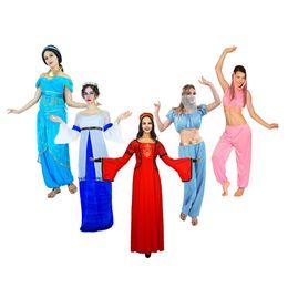 vestido de carnaval vintage Desconto Deusa sexy princesa traje árabe Dubai vintage vestido de verão das mulheres carnaval trajes de halloween dança do ventre cosplay