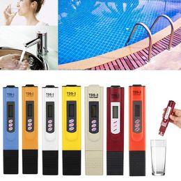 Su Kalitesi Test Dijital LCD TDS PPM Metre Ev Içme Dokunun Havuz Suyu Kalitesi Saflık Test TDS Metre 3 cheap digital ppm water tester nereden dijital ppm su test cihazı tedarikçiler