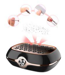 colectores de polvo Rebajas Nueva Llegada 40 W Fuerte Potencia Succión de Uñas Colector de Polvo Nail Colector de Polvo Aspiradora Nail Fan Art Salon manicure machine