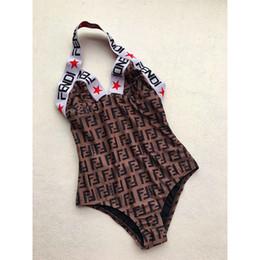 Lujo FF carta diseñador Bikini traje de baño para mujer vestido atractivo traje de baño traje de playa traje de baño de una pieza Sexy Lady Brand traje de baño desde fabricantes