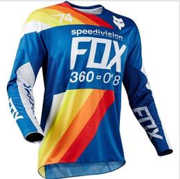 Велоспорт скоростной спуск лиса Джерси велоспорт носить балахон гонки с длинным рукавом мотоцикл костюм на заказ 2019 новый стиль Рафа трикотажные изделия 001 от