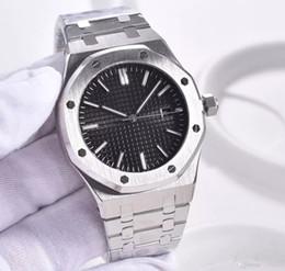 Relógio digital transparente on-line-Venda quente Casual Automático 2813 movimento Relógios Botão Borboleta Octogonal Assista Caso Vidro Transparente Voltar frete grátis
