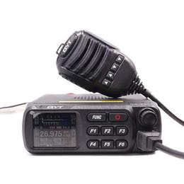 QYT CB-27 CB Rádio 26.965-27.405 MHz AM / FM 12/24 V 4 W Tela LCD Shortware Banda Cidadão Multi-Normas Presunto CB Rádio Móvel 27 de