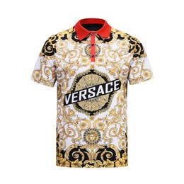 Argentina La última tendencia del patrón 3D para hombres en la versión coreana 2019 de la camiseta de auto-cultivo cheap t shirt pattern collar Suministro