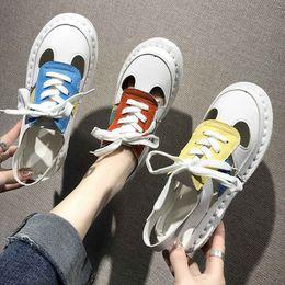 Sandales à lacets en Ligne-Sandales De Mode Pour Femmes À Bout Fermé 3 Couleur À Lacets Tendance Style Chaussures D'été Des Sandales De Haute Qualité pour Femmes