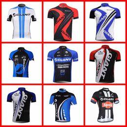 riesige fahrradhemden Rabatt GIANT Team Radfahren mit kurzen Ärmeln Trikot Rennsportbekleidung Radfahren atmungsaktive Kleidung Sommer Sportshirt tragen 51516
