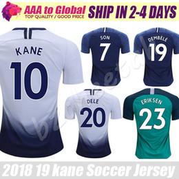 09e5d9a41b7 Kane soccer jerseys 2019 Tottenhames Home away Vertonghen Son Dele Lucas Dembele  Eriksen football shirts jersey men sports Sweatshirt