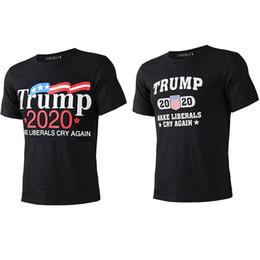 2019 padrões de roupas de maternidade Donald Trump 2020 T-shirt FAÇA LIBERAIS GRITO OUTRA VEZ T-shirt Ocasional Dos Homens de Manga Curta T-shirt dos homens de Verão Tops Tees Roupas B5052