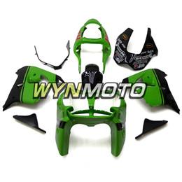 Motocicleta ABS Plástico Completo Kit de Carenagem Para Kawasaki ZX9R ZX-9R Ano 2002 2003 NINJA ZX-9R 02 03 Carroceria Verde Preto Vermelho Carenes Covers de