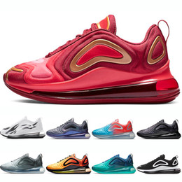designer fashion 9eec7 80286 nike air max 720 shoes KPU 720 Laufschuhe 720s 72C Herren Damen Sea Forest  Triple schwarz Sunrise Crimson Gold Northern Lights Herren-Turnschuhe aus  TPU- ...
