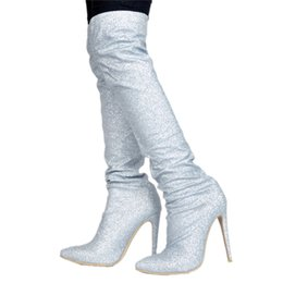 f9861acffd Shop Bling Boots UK   Bling Boots free delivery to UK   Dhgate UK