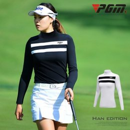 0490e13abc3 Autumn Winter PGM Women s Golf Apparel Breathable Perspiration Long Dleeved  T-shirt women Sports Bottoming Sunscreen Clothing