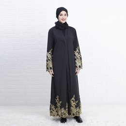 турецкий хиджаб Скидка black abayas muslim dress dubai Muslim Abaya Dress Cardigan Robe Turkish Hijab Islamic Prayer Clothing caftan turkey#G9+1