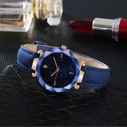 orologi stella rossa Sconti New Rose Golden Woman Tremble Network Red Star Milano Cintura in maglia di ferro Orologio da donna resistente