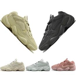 Barato Nuevo Kanye West 500 Desert Rat Blush 500s Salt Super Moon Yellow Utility Negro para hombre zapatillas deportivas para hombre mujer deporte zapatillas diseñador desde fabricantes