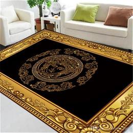 impresión de alfombras personalizadas Rebajas New Golden Edge magnífico hotel de alfombras diosa impresión de la manera Alfombras Alfombras personalizadas Para familiares hoteles y