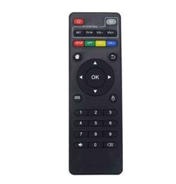 Android TV Box Için evrensel IR Uzaktan Kumanda H96 max / V88 / MXQ / T95Z Artı / TX3 X96 mini / H96 mini Değiştirme Uzaktan Kumanda LLFA nereden oyun silah kontrolörü tedarikçiler