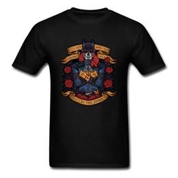 Batman camisa mujer online-Lo que hago me define camiseta Día de la heroína muerta Camiseta Hombre Mujer Cráneo Camiseta Rose Tops Batman Tees 80s