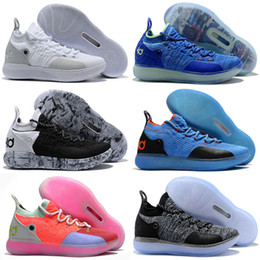 3265e6f3995e 2019 New KD 11 EP White Orange Foam Pink Paranoid Oreo ICE Basketball Shoes  Original Kevin Durant XI KD11 Mens Trainers Sneakers