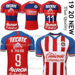 2019 camiseta de new mexico Thail Recién llegado 2019 20 Club MEXICO Camisetas de fútbol 2020 Local Visitante Tercero Guadalajara Chivas KITS Jersey 19 20 maillot de foot camiseta de new mexico baratos