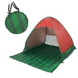 tenda inflável de cubo Desconto Barraca de praia Pop Up Beach Tendas melancia Quick Sun Shelter Dobrável Mobiliário de Jardim Tenda de Acampamento Ao Ar Livre