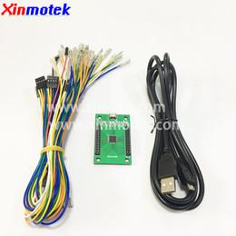 Xinmotek XM-11 Dual Player Controller con LED / USB para Jamma Arcade Game Controller / Arcade Game Machine Accesorios desde fabricantes