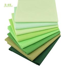 Chainho, 8pcs, grüne Normallack-Reihe, gedrucktes Twill-Baumwollgewebe, Patchwork-Tuch, DIY SewingQuilting Material für BabyChildren von Fabrikanten