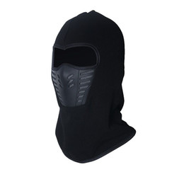 special forces hats Coupons - Winter warm Fleece beanies hats for men skull bandana neck warmer balaclava face mask Wargame Special Forces Mask