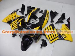 2019 1998 cbr 919 kit de carenado Nuevo kit de carenados de motocicleta ABS para HONDA CBR 919RR 919 1998 1999 CBR919RR 98 99 CBR 900RR Carenados Conjunto de carrocería personalizado amarillo negro cool rebajas 1998 cbr 919 kit de carenado