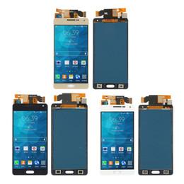 2019 a5 display lcd Per Samsung Galaxy A5 2015 A500 Display LCD regolabile Touch Screen Digitizer Assembly + Foglio adesivo LCD Display Guarnizione Riparazione sostituzione a5 display lcd economici