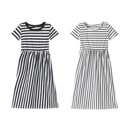 431dce5bcc prom dresses kids sizes Coupons - 2019 New baby girl dresses Children  Cotton Stripe Princess prom